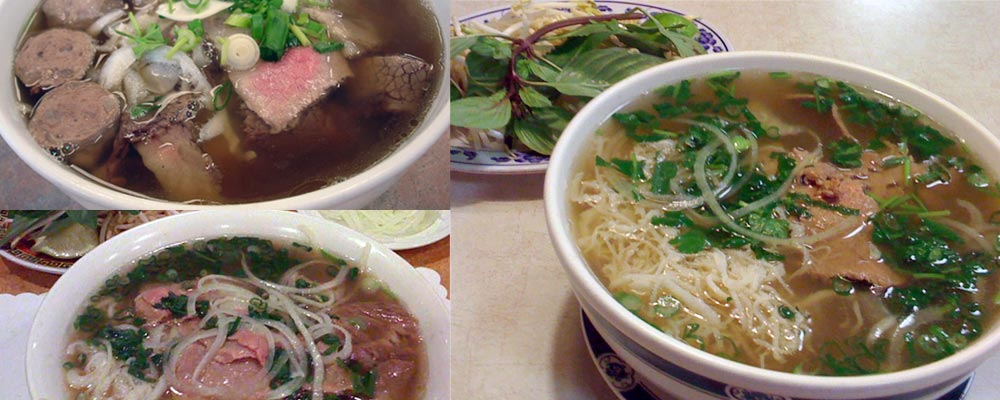 These are pho bo (beef pho)