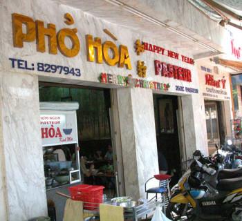 Pho Hoa Pasteur, Saigon