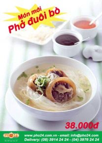 New pho duoi bo (ox tail pho)