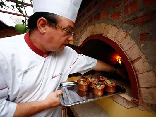 Chef Didier Corlou in action