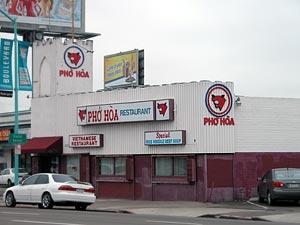Pho Hoa on El Cajon Blvd.