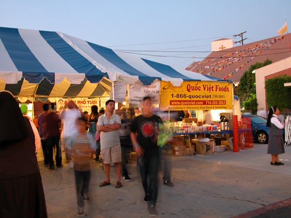 Quoc Viet pho at St Barbara Parish Fall Festival