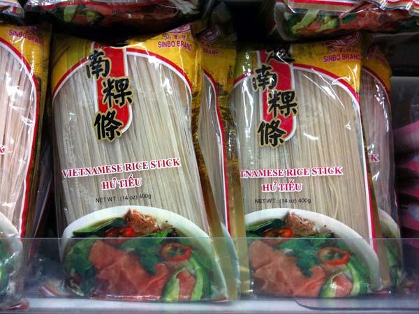 Hu tieu noodle package
