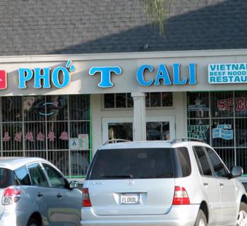 Pho T Cali pho restaurant, San Diego CA