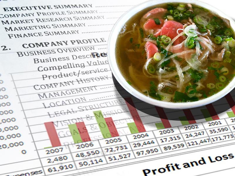 Pho restaurant business plan