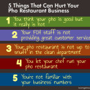 5 things that can hurt your pho restaurant