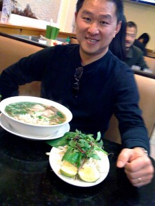 Me with my pho tai chin sach