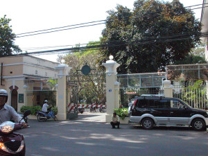 Pasteur Institute, across from Pho Hoa Pasteur Saigon