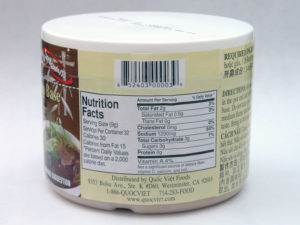 Quoc Viet beef soup base nutrition facts
