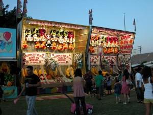 Games at St Barbara Parish Fall Festival