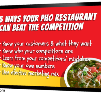 5 Ways Your Pho Restaurant Can Beat The Competition