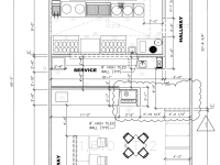 First-Cut Floor Plan Design and Placement of Major Equipment