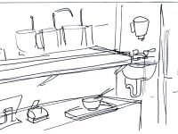 Conceptual Design of Service Area