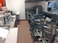 Fully Built Open-Kitchen Cooking Area