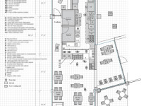 Restaurant Floor Plan With Detailed Kitchen Equipment Specs