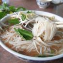 Banh pho and chopstick