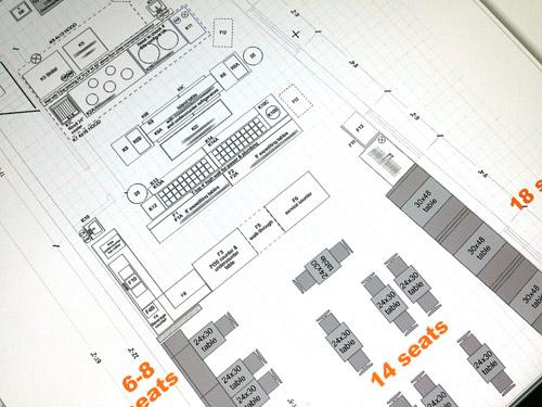 Properly designed pho restaurant floor plan