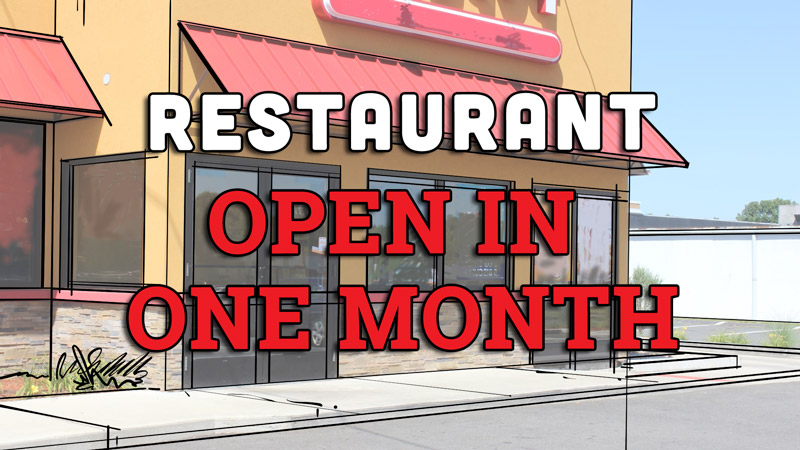 Opening first small restaurant