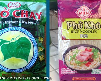 Quick cook banh pho - featured image